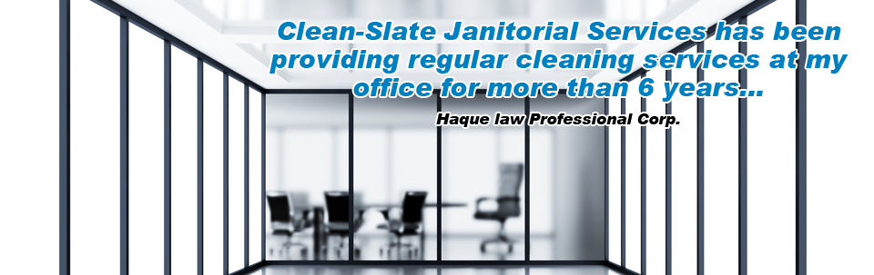 Clean Slate Janitorial Services